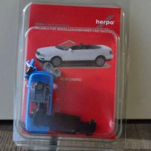 verpakking Audi-Cabrio-blauw-Minikit