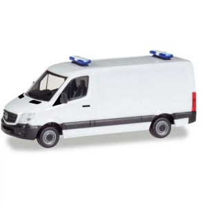 Product afbeelding Mercedes Benz Sprinter + blauwlicht