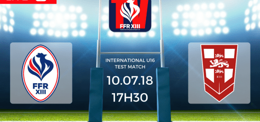 Test Match U16 France vs Angleterre FFR XIII TV