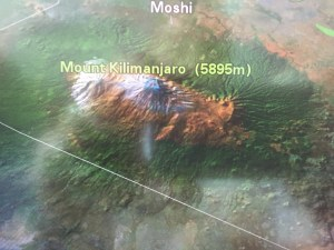 Kili on the Plane Map