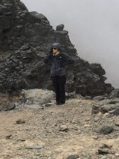 Sarah at Lava Tower