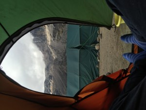 Baranco - View from my tent