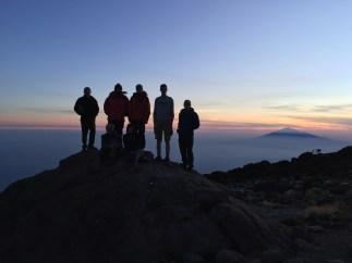 Karanga Camp - Sunset Group Shot