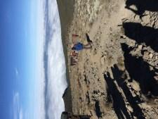 Looking down on Karanga Camp