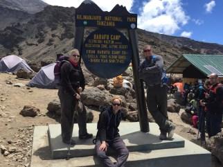 Barafu Camp - next stop summit