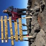 Me and Tommys at Uhuru Peak
