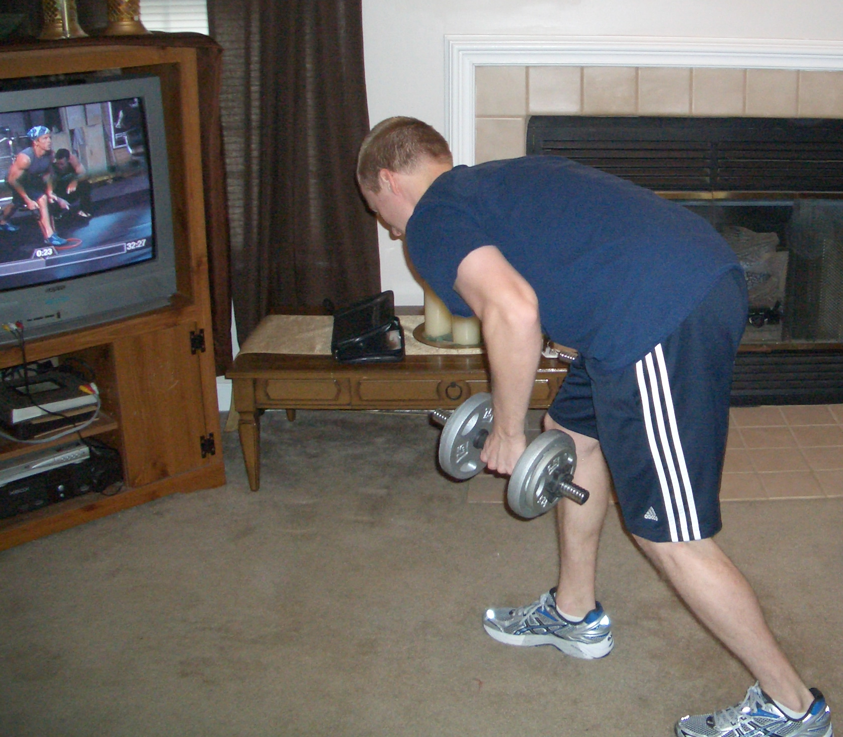 P90x Day 1 Completed Chest And Back Ab Ripper X