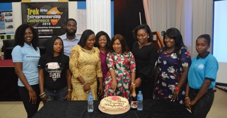 GRACE AMA MARKED HER BIRTHDAY AT TREK AFRICA'S EVENT