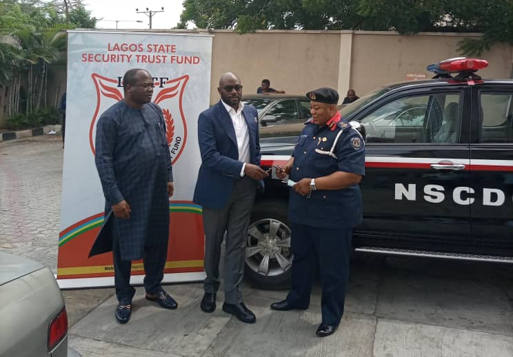 LSSTF PRESENTS OPERATIONAL VEHICLE TO NSCDC LAGOS COMMAND | Trek Africa