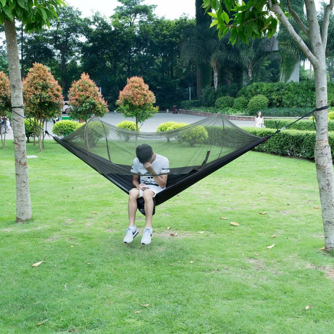 Isyoung Parachute Fabric Hammock Review