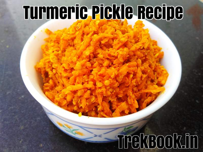 turmeric pickle recipe
