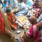 Roadside Lac bangle makers in Pandharpur