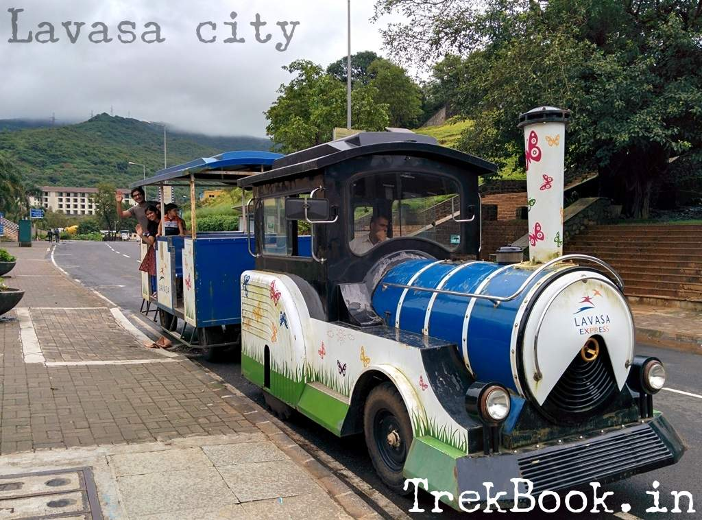 toy train at Lavasa