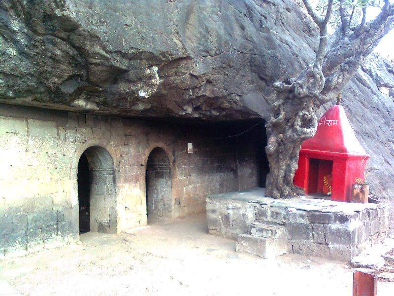 Ghoradeshwar temple from outside