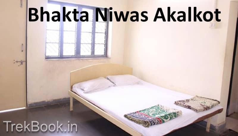 bhakt niwas Akkalkot Shree Swami Samarth room bed