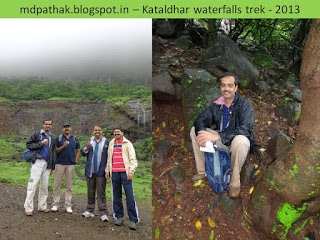 Kataldhar Waterfall trek with friends