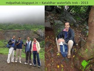 Kataldhar Waterfall trek with friends