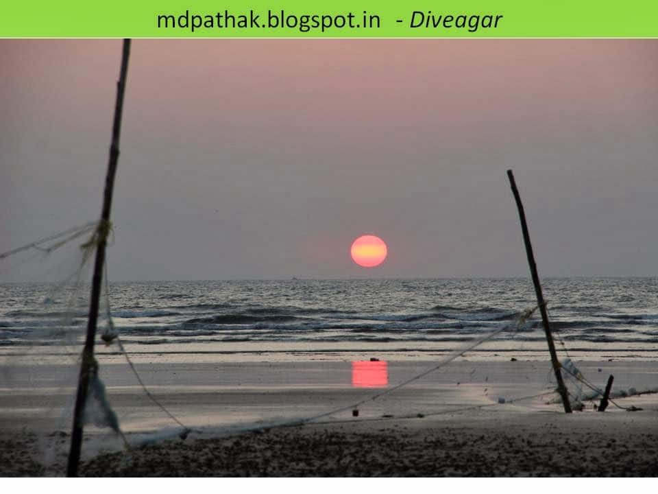 diveagar beautiful sunset