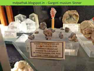 samplesof impact glass from lonar crator,Buldhana, Maharashtra, about 15000 years old