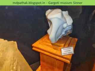 Swayambhu Ganeshji found at Agate, Ajanta, Maharashtra