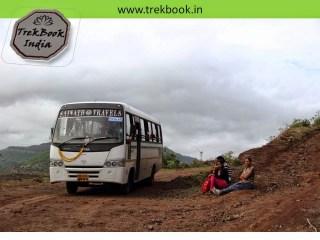 bus goes upto top of Kalyangad Fort, Nandgiri Village, Satara