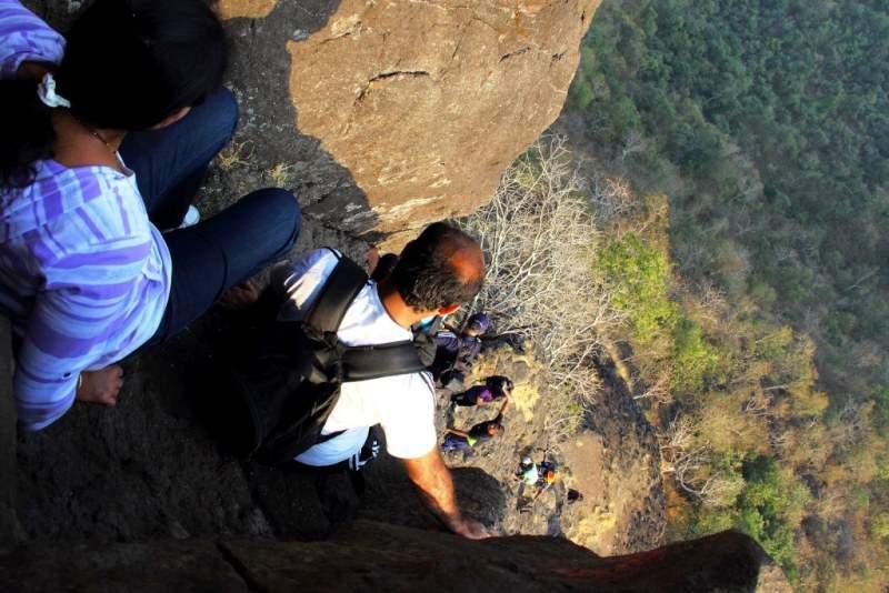 difficult descend gorakhgad