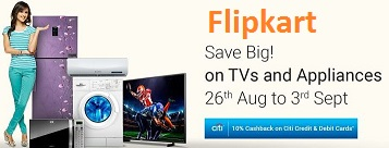 flipkart discount offers aug 2016