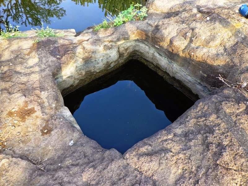 cistern at Ghoradeshwar Caves