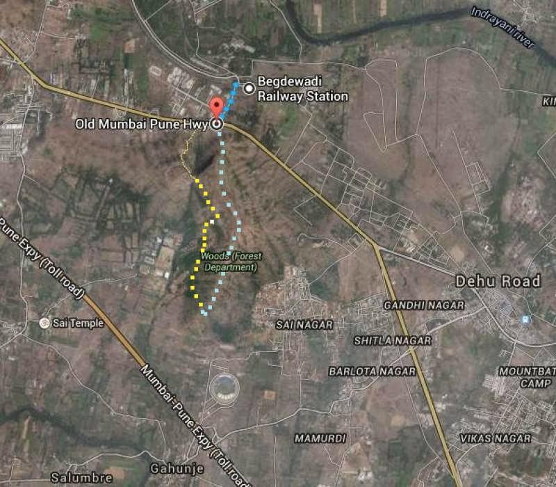 mini trek ghorawadeshwar route map