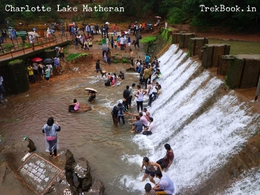 charlotte lake matheran people enjoying
