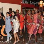 Masai Dance at Mara Leisure Camp