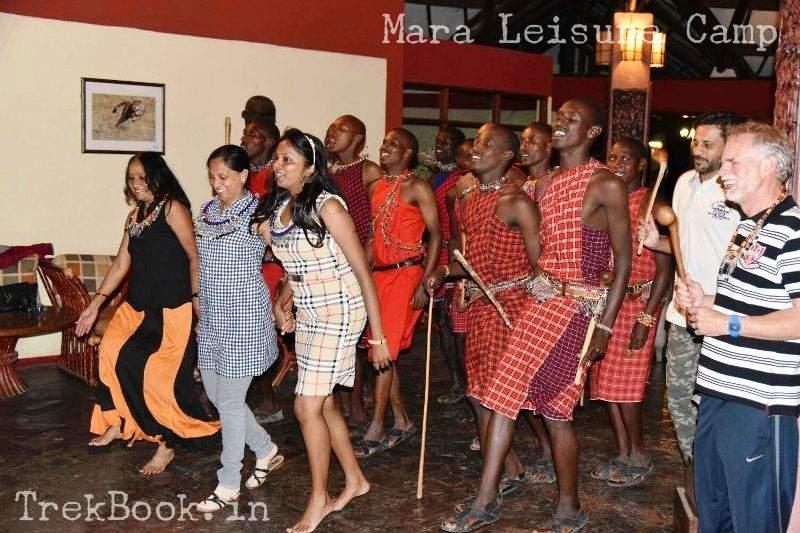 mara leisure camp masai dance