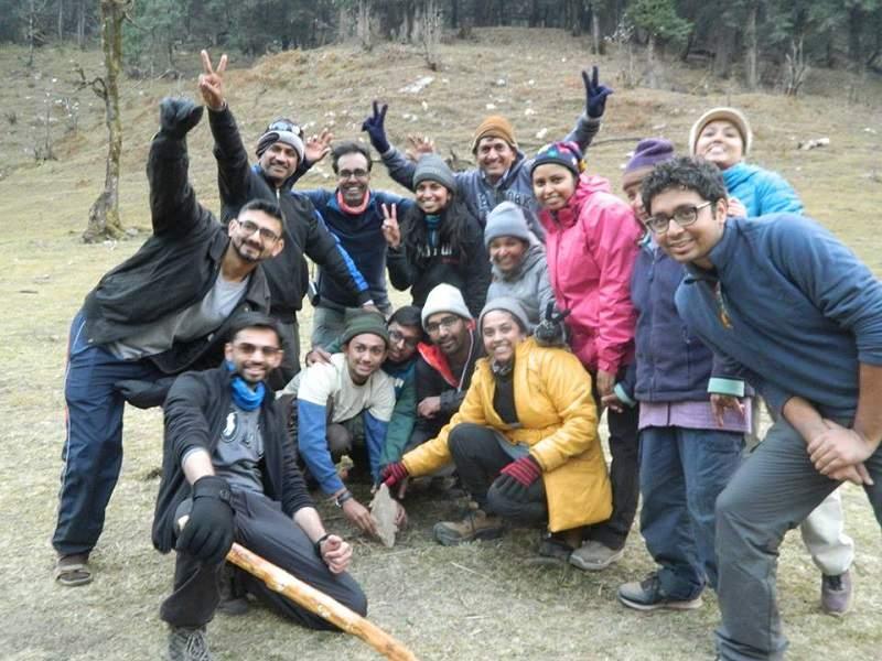 youth hostels trek to kedarnath