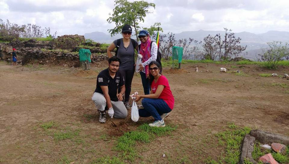 stay delight tree plantation at tikona fort