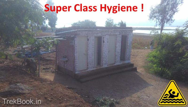 unsafe camping near pawana dam hygiene