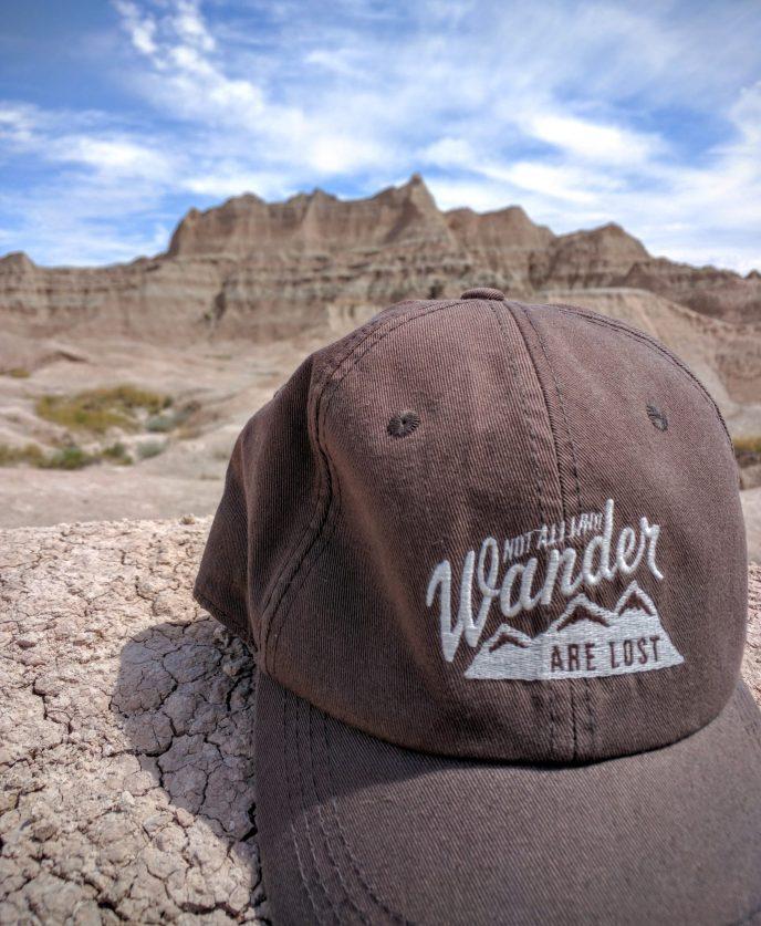 Not All Who Wander ball cap
