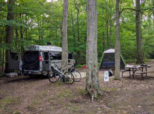 2008 Roadtrek 190 Popular 4x4 in campsite