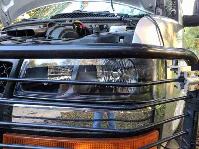 brand new Chevrolet headlight