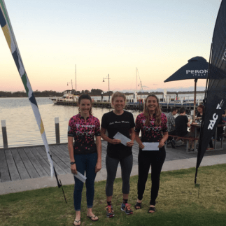 Anna Stott and Niki Hobday take second and third in stage 2