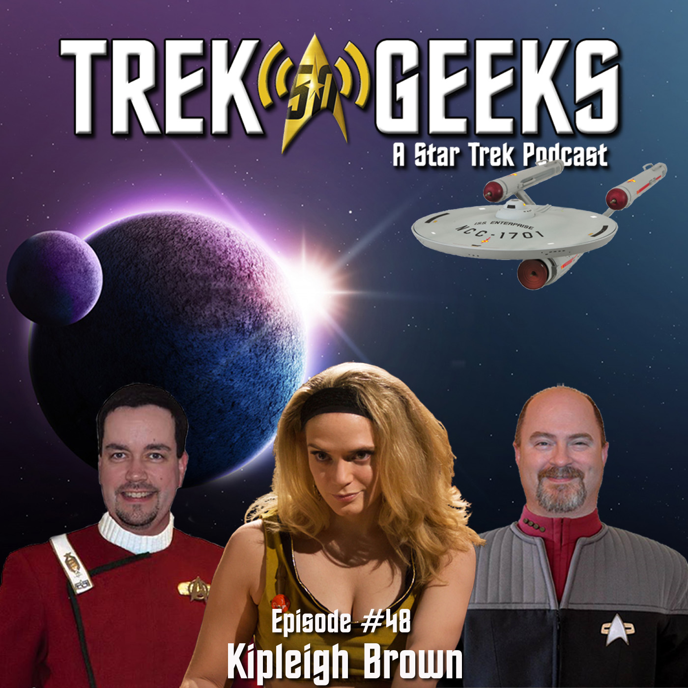 Kipleigh Brown Star Trek