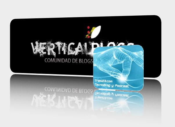 Logo de Treki23 en Vertical blog