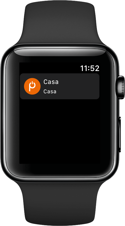 Parking Door para watchOS conectado
