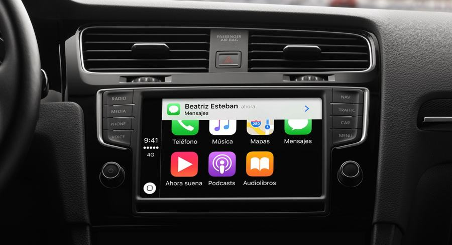 notificaciones en CarPlay