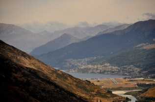 Queenstown and the landing strip