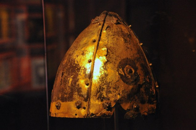 "A real helmet, the ""Mayer helm"", ~ late 900 AD"