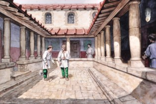 Artist concept of the Housestead hospital