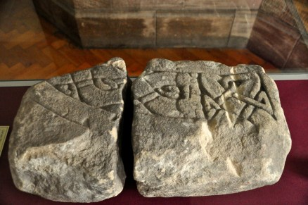 Carved stones from 800 AD
