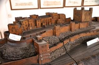 Model of Bamburgh Castle