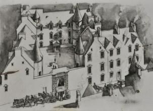 Sketch of Argyll's Landing