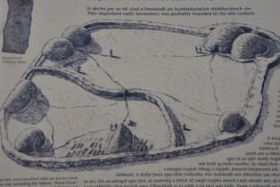 Layout of the Reask Monastic Site